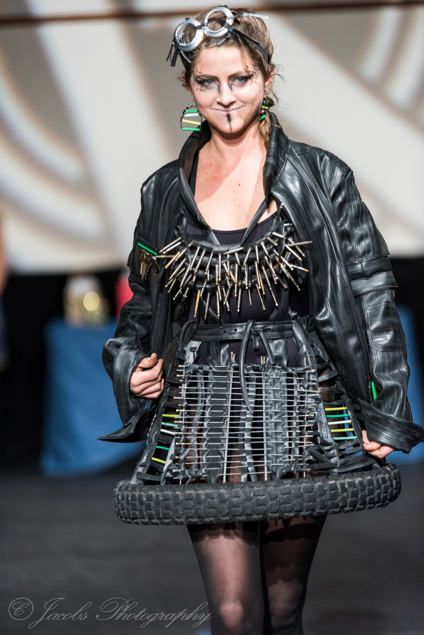 2019 year look- Art to recycled wear fashion show