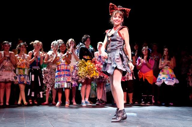 Trash Fashion 2010 - stage shot